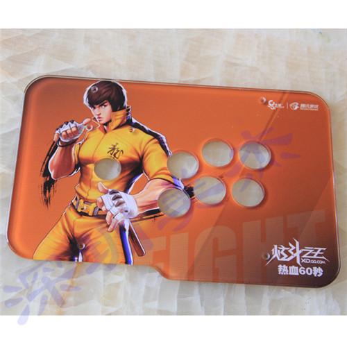 深圳宝安西乡有机玻璃游戏装饰面板UV打印加工厂家,深圳美杰