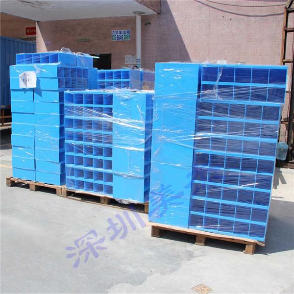 富士康定做的蓝色亚克力盒子发货啦!