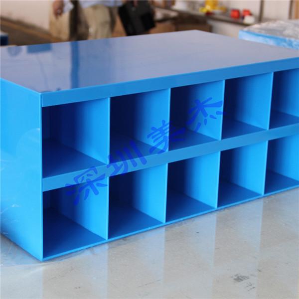 美杰经典蓝色亚克力展示盒-老客户最爱