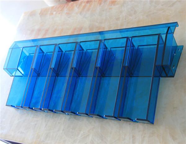 透明蓝有机玻璃防护罩