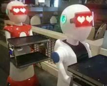 机器人亚克力面罩