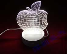 亚克力3D视觉台灯定做