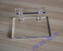 透明有机玻璃展示架