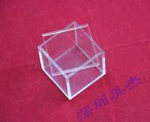 透明有机玻璃盒子定做